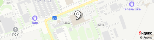 Межобластной центр автострахования на карте Курска