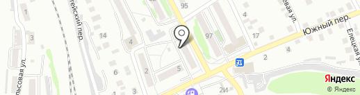 Участковый пункт полиции №8 по Железнодорожному району на карте Орла