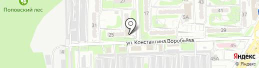 Многофункциональный центр предоставления государственных и муниципальных услуг г. Курска на карте Курска