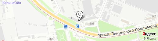 Юридический кабинет на карте Курска