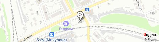 Бакалейный магазин на карте Орла