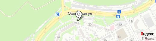 Роллы Палы на карте Курска