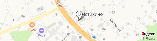 Колокол на карте Мстихино