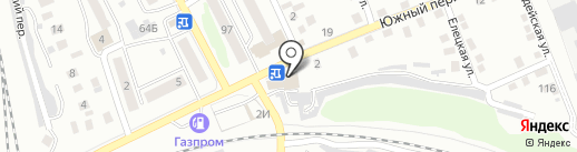 Торговый павильон на карте Орла