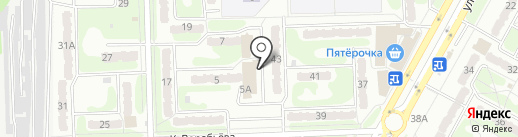 Стабильность на карте Курска