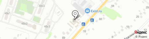 Садовый центр на карте Орла