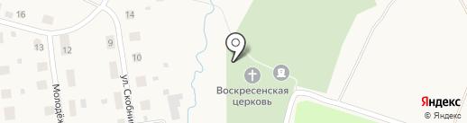Церковь в честь Воскресения Христова на карте Эммауса