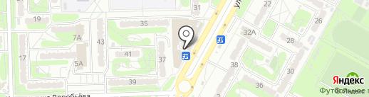 Магазин косметики и парфюмерии на карте Курска
