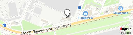 Память46 на карте Курска