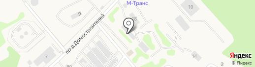 Линия камня на карте Мстихино