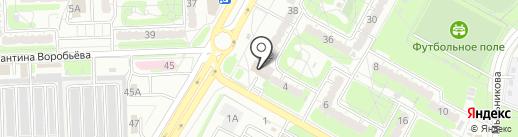 Черепашки пицца на карте Курска
