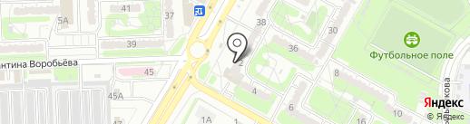Винно-водочная закусочная компания на карте Курска