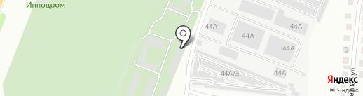 Эдельвейс на карте Курска