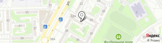ЖСК №143 на карте Курска