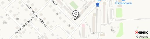 Qiwi на карте Мстихино