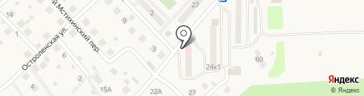 Калугафармация, ГП на карте Мстихино