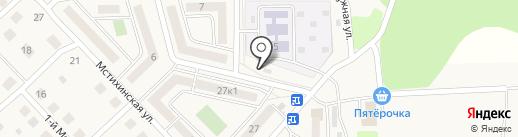 Продуктовый магазин на карте Мстихино