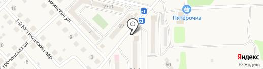 Почтовое отделение №248915 на карте Мстихино