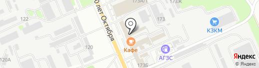 Мир Фаркопов на карте Курска