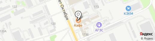 KERCHAR на карте Курска