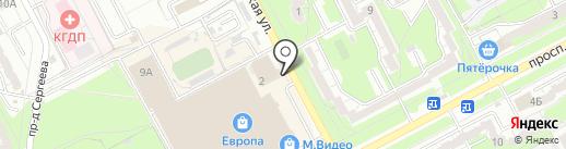 Фонбет на карте Курска