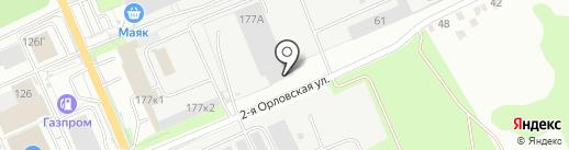 Столярное ателье Александра Жирнова на карте Курска