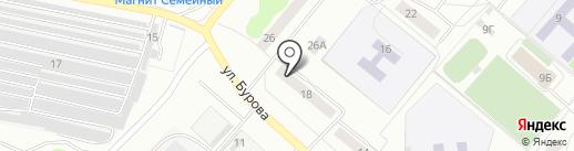 Алые паруса на карте Орла