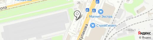 Магазин рыболовных товаров на карте Курска