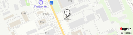 Магазин оборудования для автосервиса на карте Курска