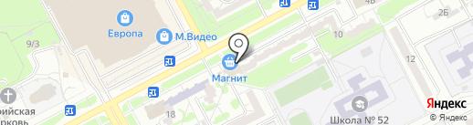 Фаворит на карте Курска