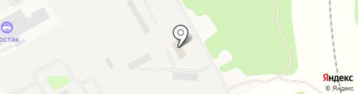 Пожарная часть №2 на карте Мстихино