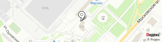 Инспекция Федеральной налоговой службы России по г. Орлу на карте Орла
