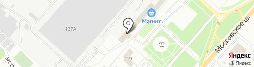 Администрация Северного района на карте Орла