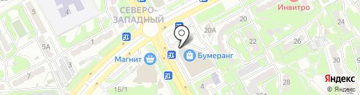 Суши Пати на карте Курска