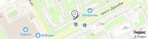 Магазин сантехники и крепежных изделий на карте Курска