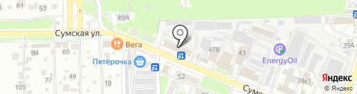 Автолюкс на карте Курска