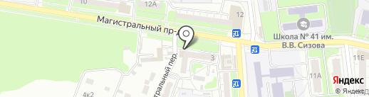 Бир Мир на карте Курска