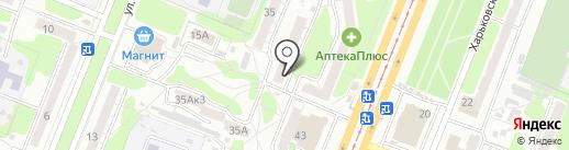 Продукты Ермолино на карте Курска