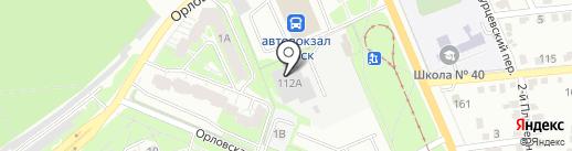 Ильмир на карте Курска