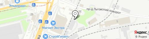 ГранитКурск на карте Курска