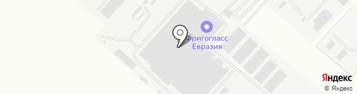 Фригогласс Евразия на карте Орла