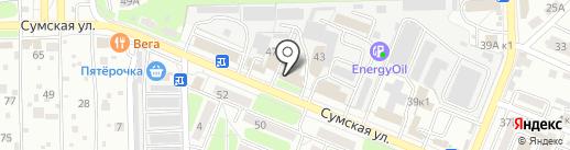 Витраж-маркет на карте Курска