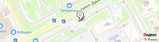 КурскТоргПром на карте Курска