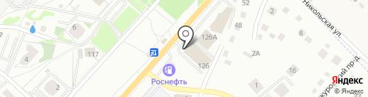 Магазин сантехники на карте Орла