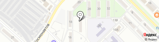 Участковый пункт полиции №12 на карте Орла