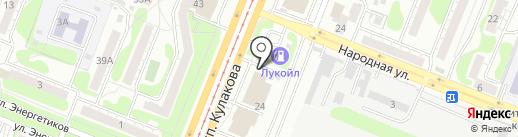 Студия стиля на карте Курска