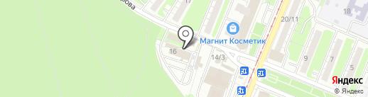 Санис на карте Курска