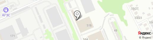 Торговая компания на карте Курска
