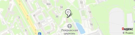 Приват на карте Курска