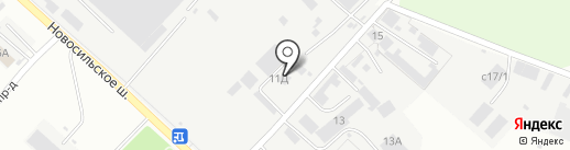 ОрелИнвестСтрой на карте Орла